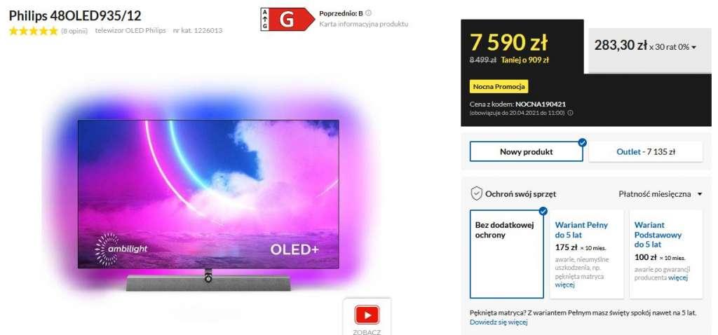 Promocja Philips OLED euro