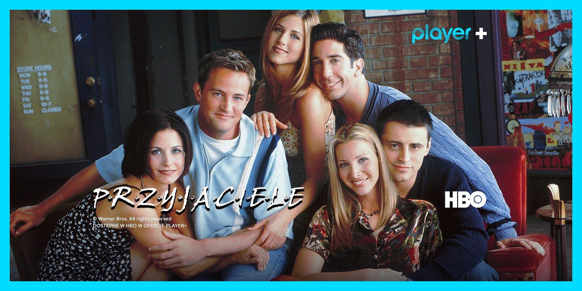 """Serial """"Przyjaciele"""" dostępny na platformie Player – w ofercie wszystkie sezony!"""