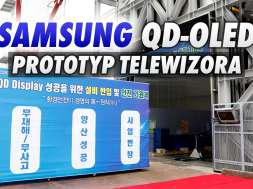 QD-OLED panel telewizor fabryka okładka