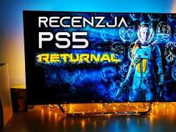 Returnal PS5 recenzja okładka