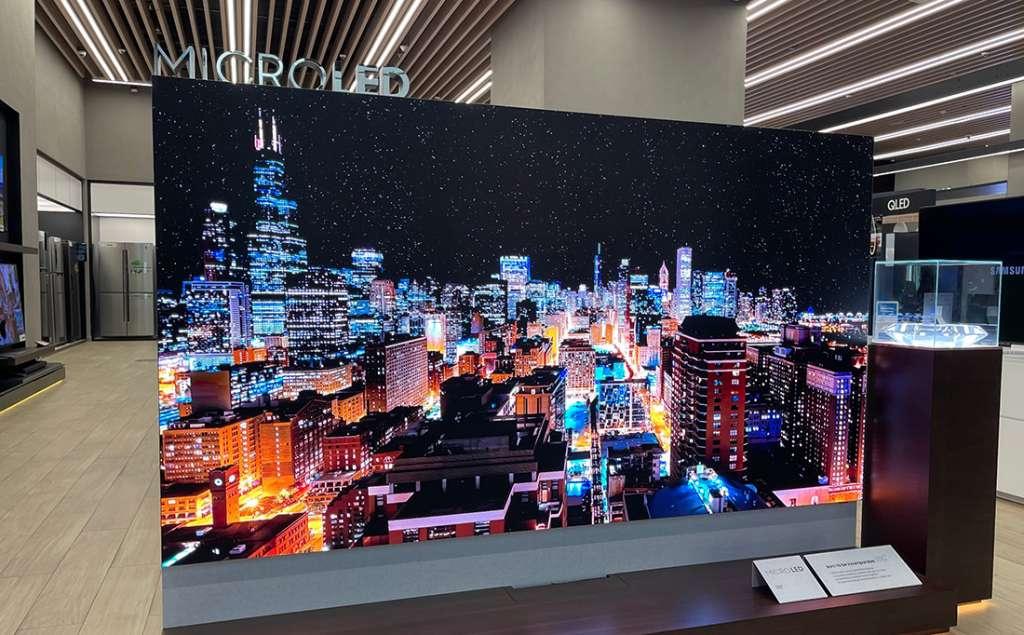 Pierwsze spojrzenie z bliska na telewizor Samsung MicroLED! Czy to naprawdę rewolucja w kinie domowym?