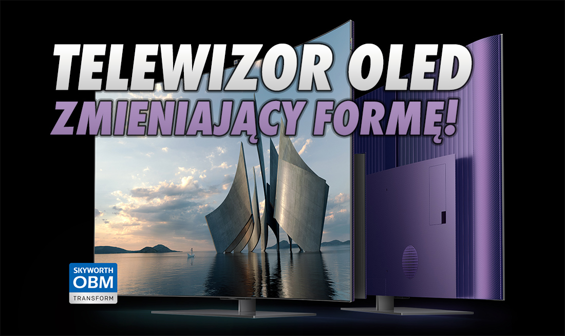 Pokazano pierwszy zmieniający formę telewizor OLED – przekształca się z płaskiego w zakrzywiony! 120Hz, Dolby Vision – ile kosztuje?