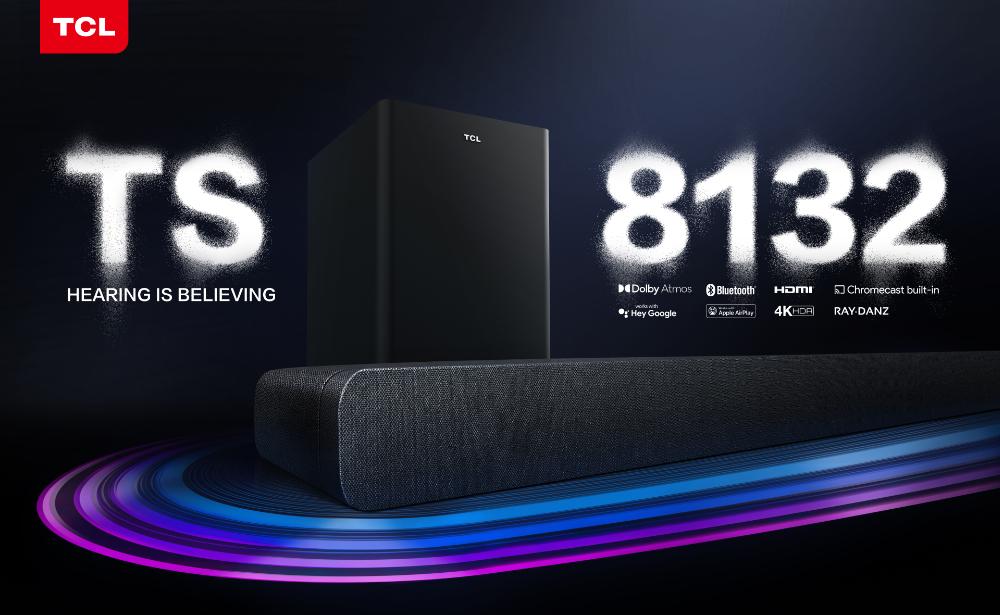 TCL ujawnia nowy soundbar z Dolby Atmos na 2021 rok! 3.1.2-kanałowa konstrukcja z obsługą HDMI eARC i Dolby Vision. Będzie hit cenowy?