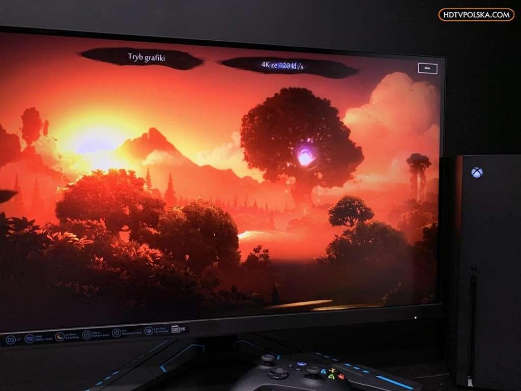 Test Monitor Lenovo G27q-20 HDR