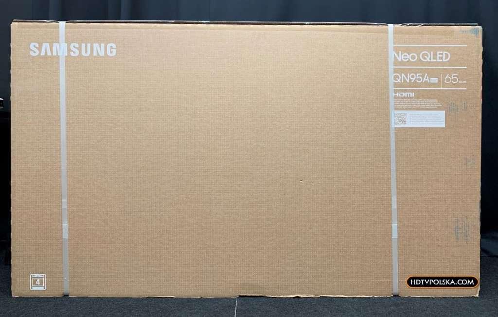Test Samsung Neo QLED QN95A MiniLED karton