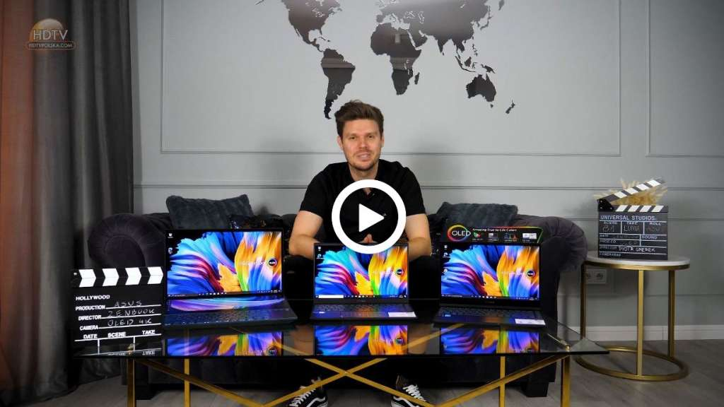 Test laptop ASUS ZenBook OLED play