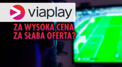 Viaplay serwis VOD piłka nożna Polska cena okładka
