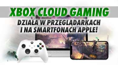 Xbox Cloud Gaming Game Pass przeglądarki Windows Apple okładka