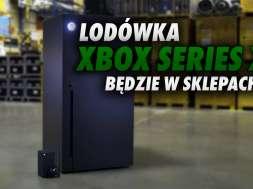 Xbox Series X konsola lodówka okładka