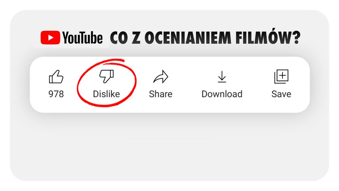 YouTube zabroni oceniania filmów? Pierwsi użytkownicy testują wersję bez łapek w dół – czy znikną na dobre?