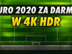 euro2020 za darmo w 4K HDR telewizja okładka
