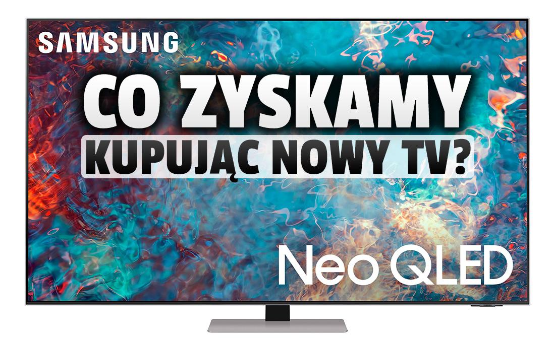 Co można zyskać kupując nowy telewizor Samsung Neo QLED? Producent przygotował pakiet usług premium!