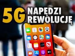 sieć 5G zasięg Polska okładka