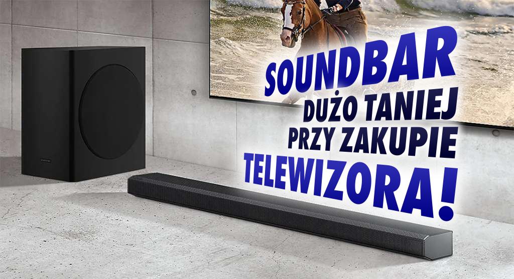 Samsung uruchamia wielką promocję – mocny rabat na soundbar przy zakupie telewizora Neo QLED i QLED! Gdzie skorzystamy?