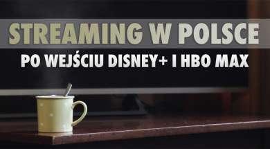 streaming VOD polska oglądalność Disney+ HBO Max okładka