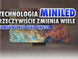 technologia miniled samsung qn95a okładka
