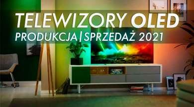 telewizory OLED produkcja sprzedaż 2021 prognoza