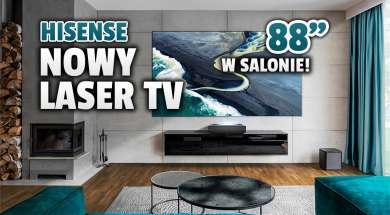 Hisense Laser TV 88L5 lifestyle okładka