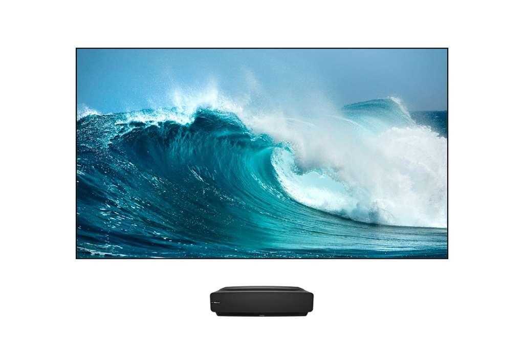 Hisense prezentuje potencjalny hit - nowy laserowy telewizor Sonic Screen Laser TV, czyli 88 cali w 4K z HDR w salonie!
