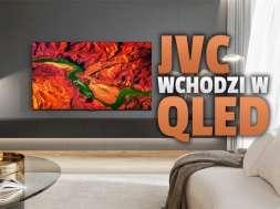 JVC Smart TV 4K telewizor QLED lifestyle 2 okładka