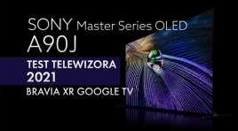 Król oferty telewizorów OLED 4K od Sony zarządził w naszej redakcji | TEST | Google TV Sony BRAVIA XR OLED A90J