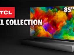 TCL telewizory XL Collection 4K 85 cali okładka