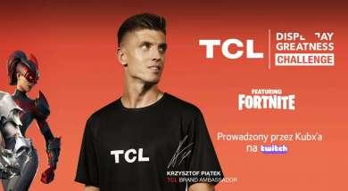 TCL Fortnite konkurs 2021 okładka