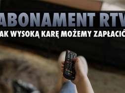 abonament RTV dług kara przedawnienie okładka