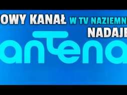 antena hd kanał telewizor logo okładka