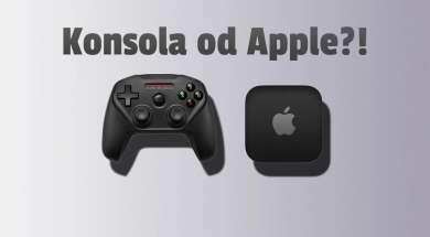 apple konsola okładka