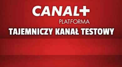 canal+ kanał testowy na transponderze okładka
