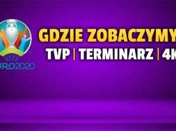 euro 2020 turniej tvp terminarz 4K okładka