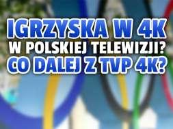 igrzyska olimpijskie tokio 2021 telewizja 4K TVP okładka