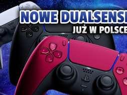 kontroler DualSense PS5 czerwony czarny sklep okładka