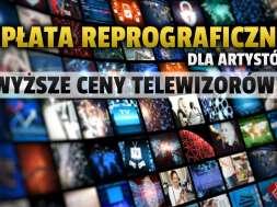 opłata reprograficzna ceny telewizory okładka