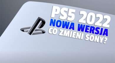 ps5 2022 nowa wersja konsoli okładka