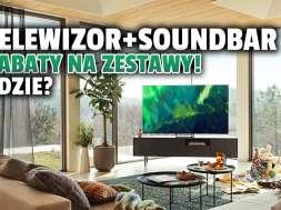 samsung telewizor QLED Q60A promocja akcja zestaw soundbar okładka