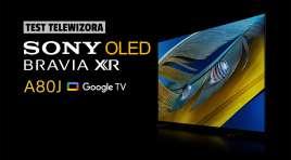 Sprawdzamy młodszego brata króla oferty telewizorów Sony OLED | TEST | Google TV Sony BRAVIA XR OLED A80J