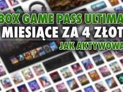 xbox game pass ultimate promocja 4 złote okładka