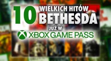 10 gier bethesda xbox game pass czerwiec 2021 okładka