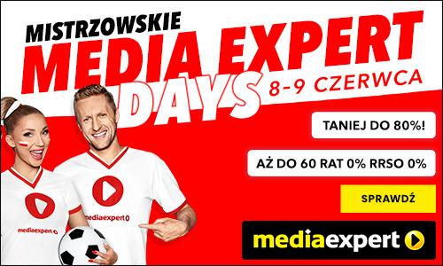 Jeszcze tylko dziś gigantyczna akcja Media Expert Days na EURO 2020! Hitowe telewizory idealne do oglądania piłki do 3000 zł taniej!