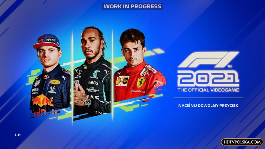 F1 2021 zapowiedź test recenzja menu