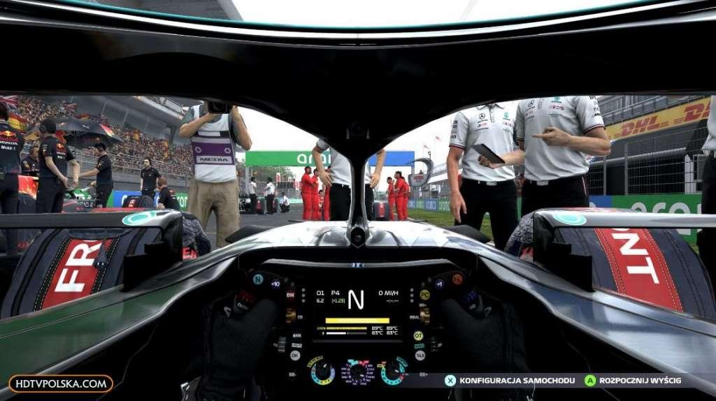 F1 2021 zapowiedź test recenzja wyścig