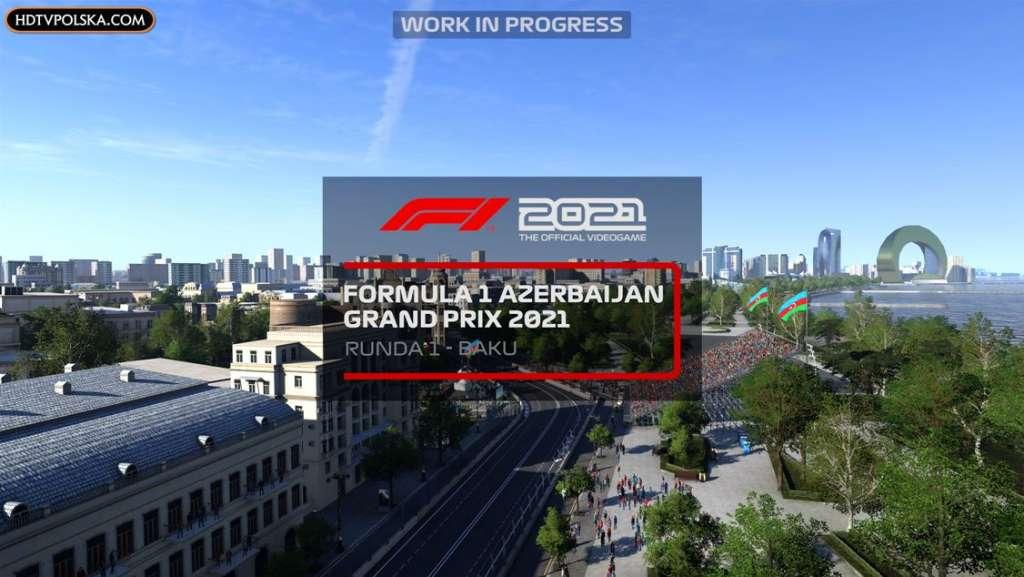 F1 2021 zapowiedź test recenzja wyścig baku
