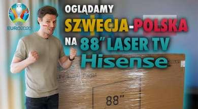 HISENSE laser unboxing zapka okładka