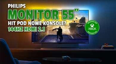 Philips Momentum monitor designed for Xbox okładka