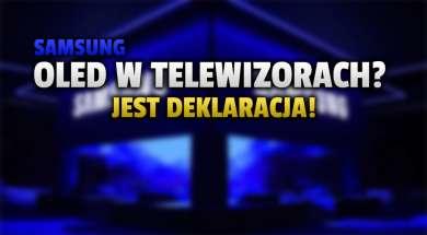 SAMSUNG oled telewizory okładka