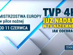 TVP 4K kanał naziemna telewizja cyfrowa testowe nadawanie dvb-t2 okładka