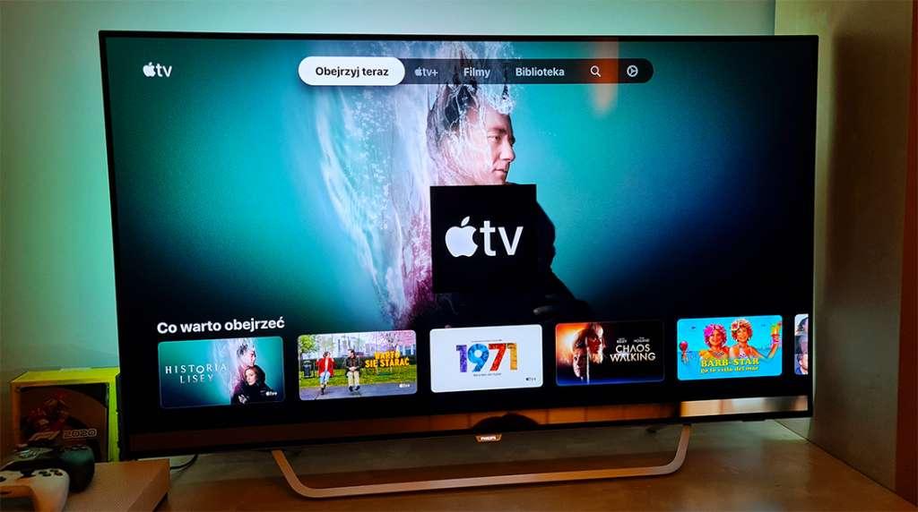 Apple TV dostępne na telewizorach Philips z systemem Android TV! Aplikacja na wszystkich modelach 2021 i 2020
