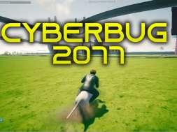 cyberpunk 2077 pre alpha błędy bugi kompilacja okładka